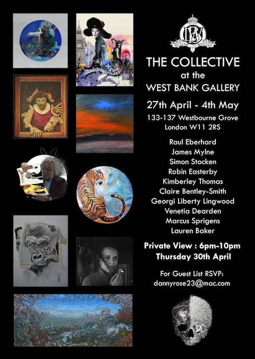 Events in Notting Hill - Collective 2015 at the West Bank Gallery