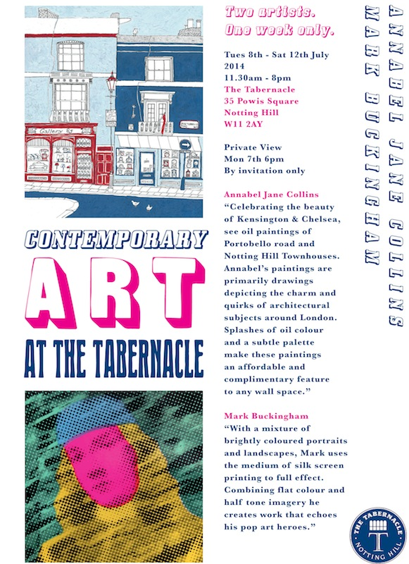 Events in Notting Hill - Contemporary Art at The Tabernacle