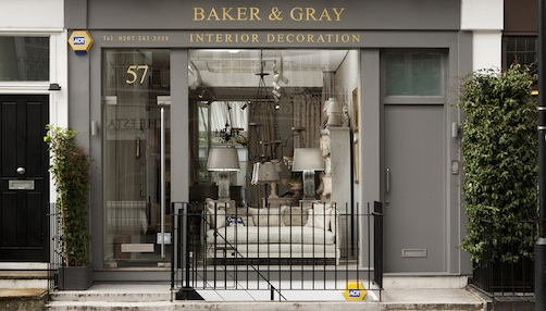 Shopping in Notting Hill - Baker and Gray