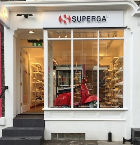 Shopping in Notting Hill - Superga
