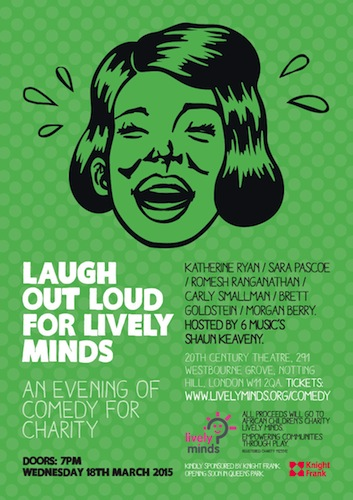 Events in Notting Hill - Laugh Out Loud For Lively Minds