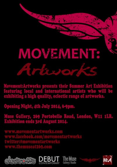 Events in Notting Hill - Movement:Artworks