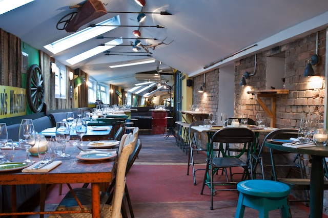 Restaurants in  Notting Hill - The Shed