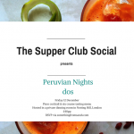 The Supper Club Social