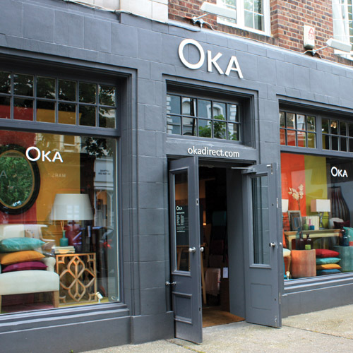 Shopping in Notting Hill - OKA