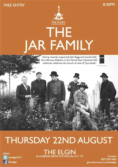 The Jar Family Gig
