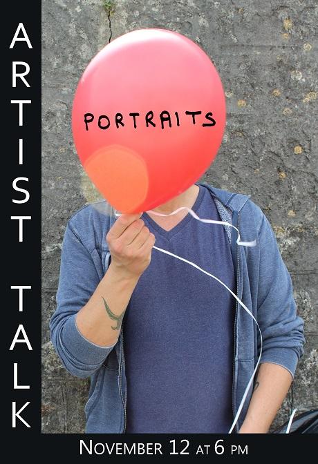 IMPREINT artist talk Portraits