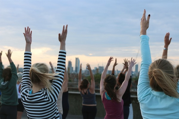 Secret Yoga Club in Notting Hill